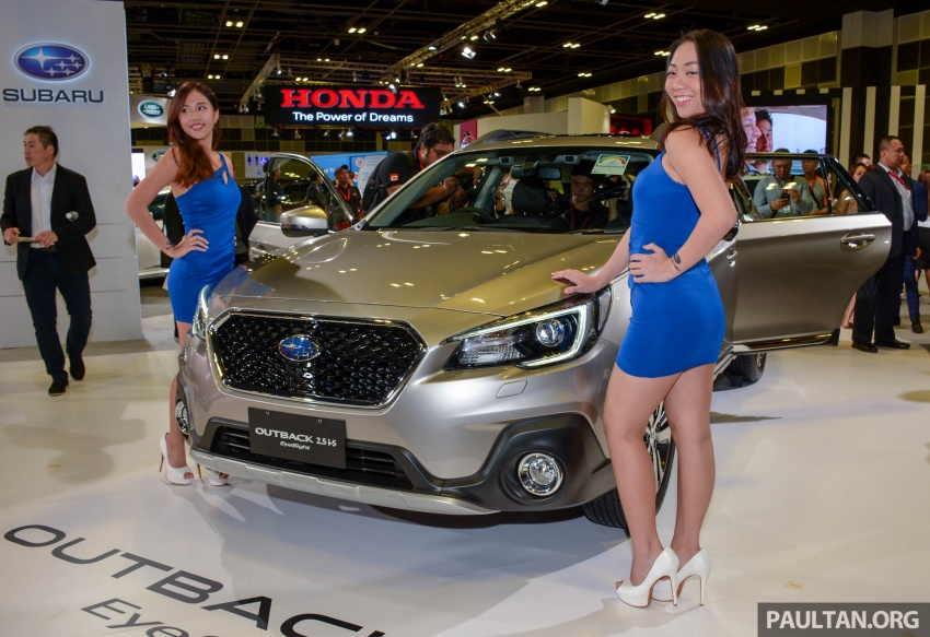 Subaru Outback facelift, XV 2.0 launched in Singapore Image #759964
