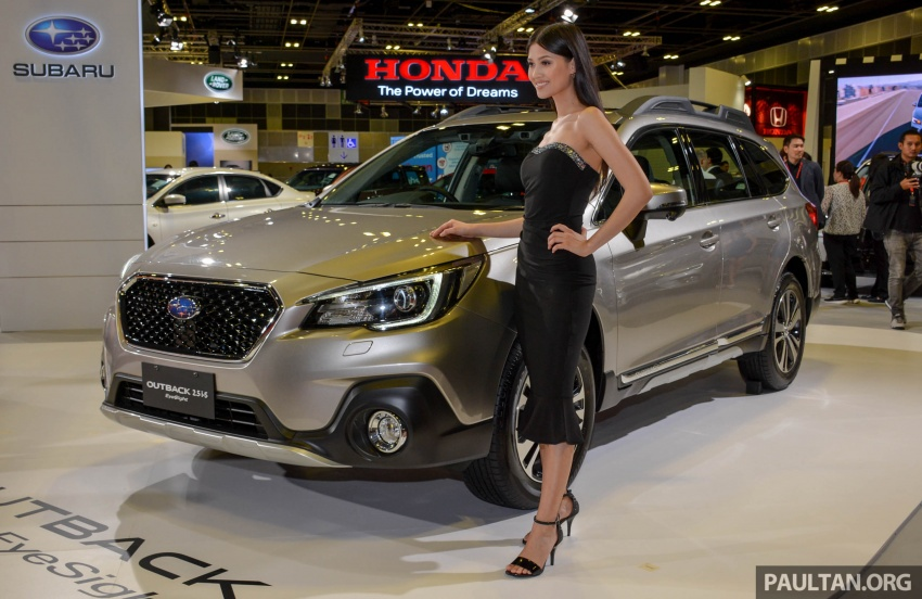 Subaru Outback facelift, XV 2.0 launched in Singapore Image #759967