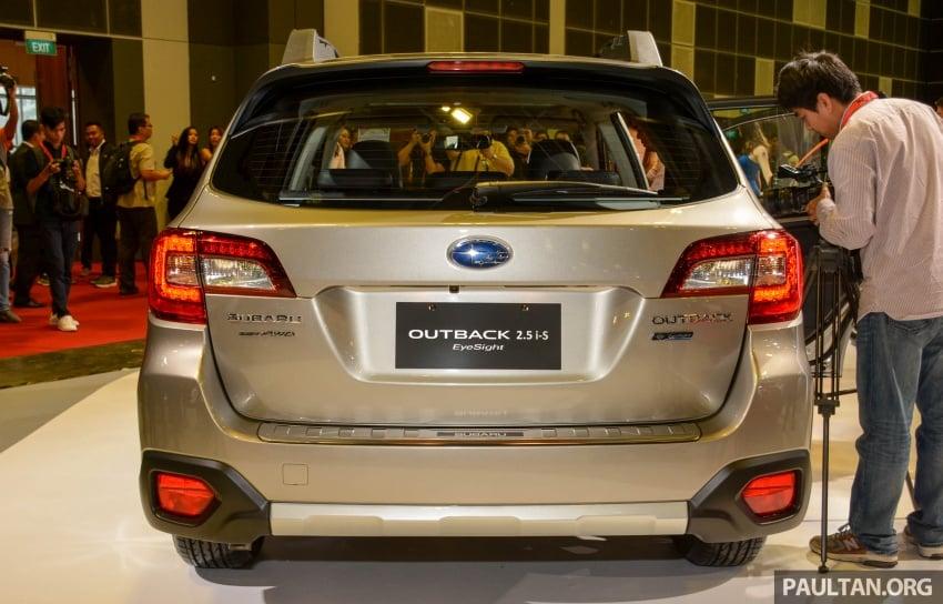 Subaru Outback <em>facelift</em> dan XV 2.0 liter dilancarkan di Singapura – penampilan sulung EyeSight di ASEAN Image #759889