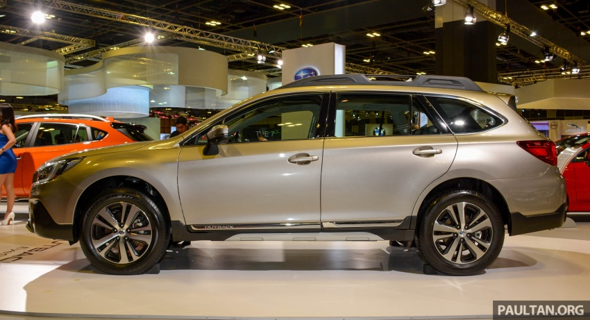 Subaru Outback facelift, XV 2.0 launched in Singapore Image #759888
