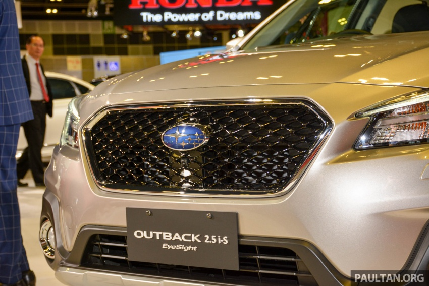Subaru Outback facelift, XV 2.0 launched in Singapore Image #759890