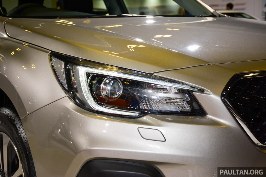 Subaru Outback facelift, XV 2.0 launched in Singapore Image #759893