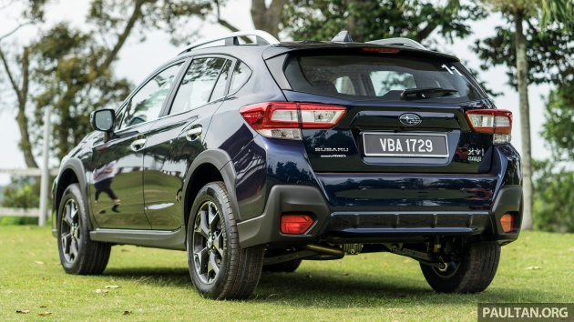On The Outside New Xv Takes An Evolutionary Styling Simple But To Great Effect It S Unmistakably A Subaru C Shaped Led Daytime Running