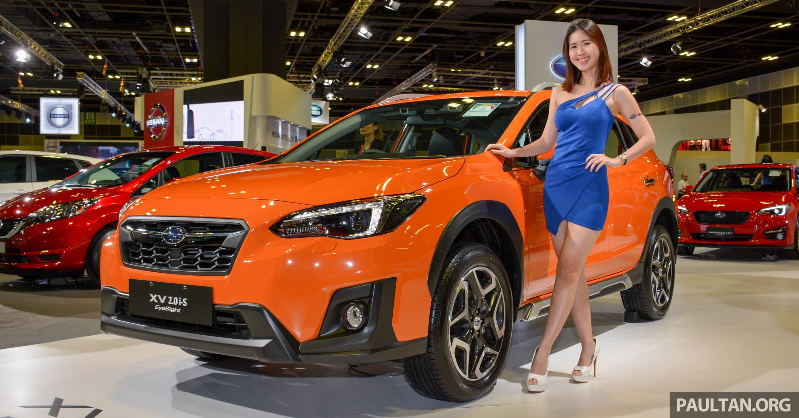 Custom Subaru Crosstrek >> Subaru XV to receive EyeSight safety system in Malaysia by second half of 2019 - up to RM8,000 more