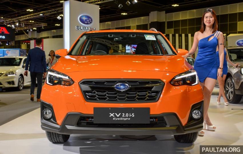 Subaru Outback <em>facelift</em> dan XV 2.0 liter dilancarkan di Singapura – penampilan sulung EyeSight di ASEAN Image #759987