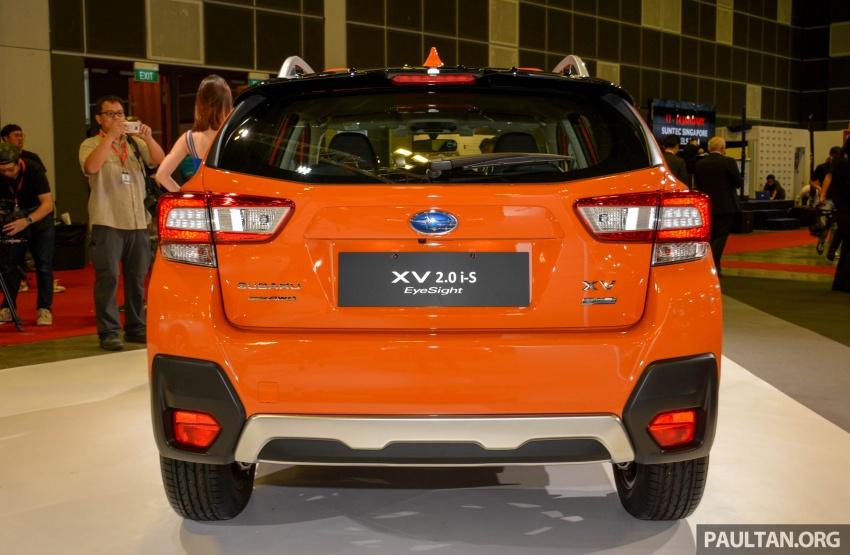 Subaru Outback <em>facelift</em> dan XV 2.0 liter dilancarkan di Singapura – penampilan sulung EyeSight di ASEAN Image #759989