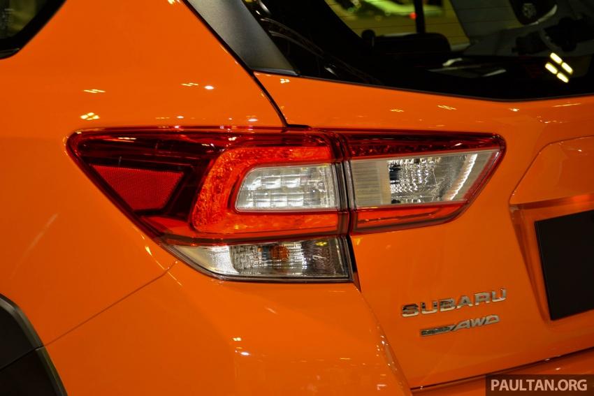 Subaru Outback <em>facelift</em> dan XV 2.0 liter dilancarkan di Singapura – penampilan sulung EyeSight di ASEAN Image #759993