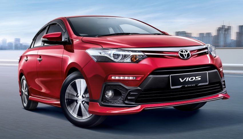 Toyota Vios updated for 2018 – new bodykit, more kit Image #756672