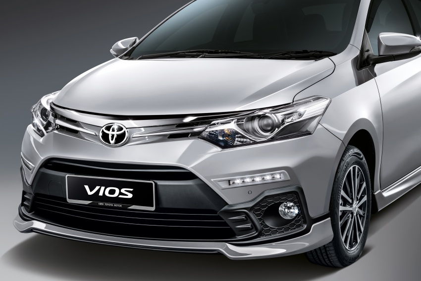 Toyota Vios updated for 2018 – new bodykit, more kit Image #756674