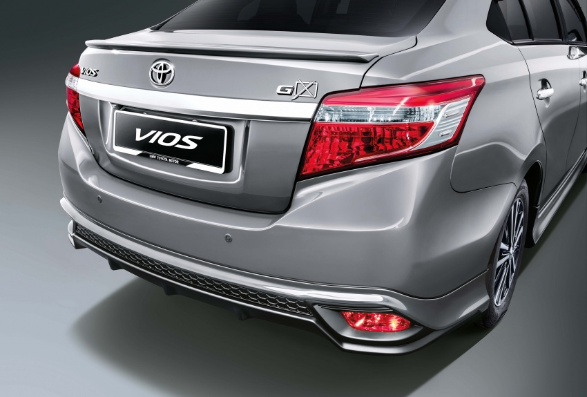Toyota Vios updated for 2018 – new bodykit, more kit Image #756675
