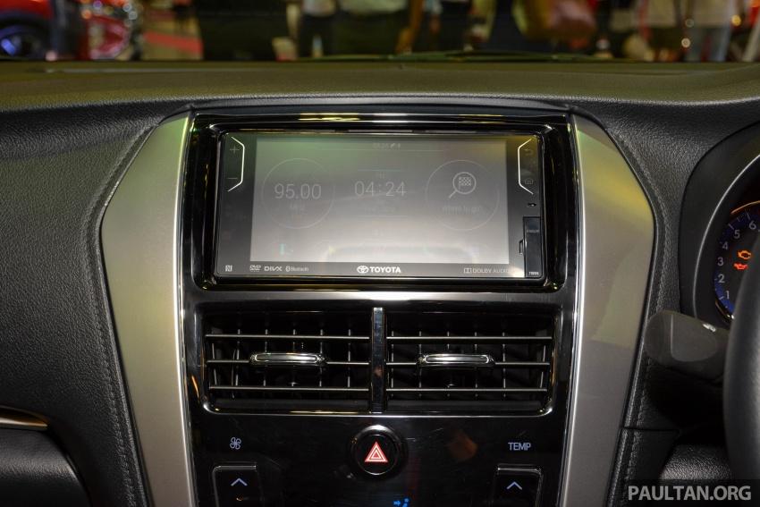 Toyota Vios generasi baharu di <em>Singapore Motor Show</em> 2018 – 1.5L Dual VVT-i, CVT, tujuh-beg udara dan VSC Image #760654
