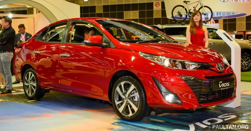 Toyota Vios generasi baharu di <em>Singapore Motor Show</em> 2018 – 1.5L Dual VVT-i, CVT, tujuh-beg udara dan VSC Image #760636