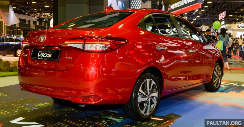 Toyota Vios generasi baharu di <em>Singapore Motor Show</em> 2018 – 1.5L Dual VVT-i, CVT, tujuh-beg udara dan VSC Image #760638