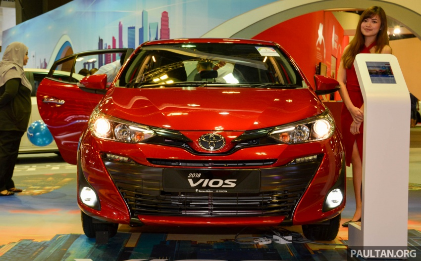 Toyota Vios generasi baharu di <em>Singapore Motor Show</em> 2018 – 1.5L Dual VVT-i, CVT, tujuh-beg udara dan VSC Image #760640