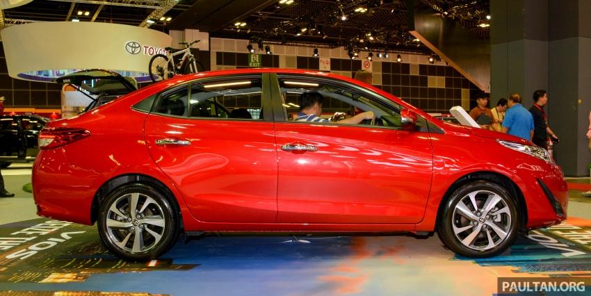 Toyota Vios generasi baharu di <em>Singapore Motor Show</em> 2018 – 1.5L Dual VVT-i, CVT, tujuh-beg udara dan VSC Image #760643