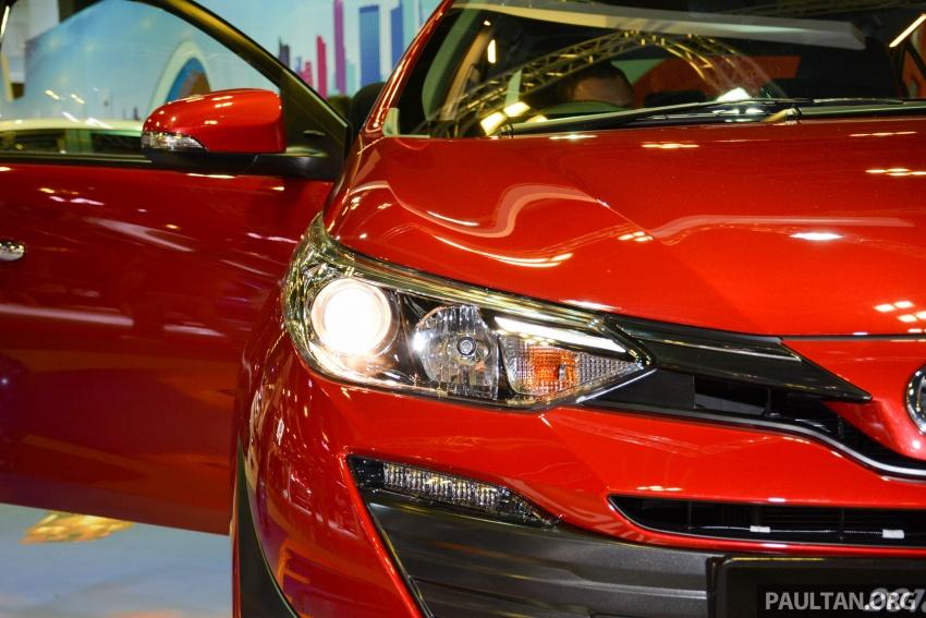 Toyota Vios generasi baharu di <em>Singapore Motor Show</em> 2018 – 1.5L Dual VVT-i, CVT, tujuh-beg udara dan VSC Image #760645