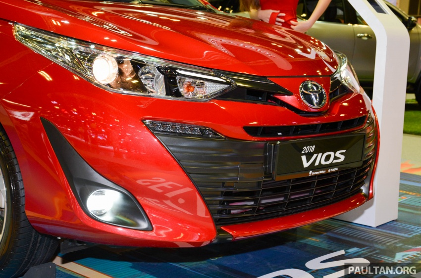 Toyota Vios generasi baharu di <em>Singapore Motor Show</em> 2018 – 1.5L Dual VVT-i, CVT, tujuh-beg udara dan VSC Image #760646