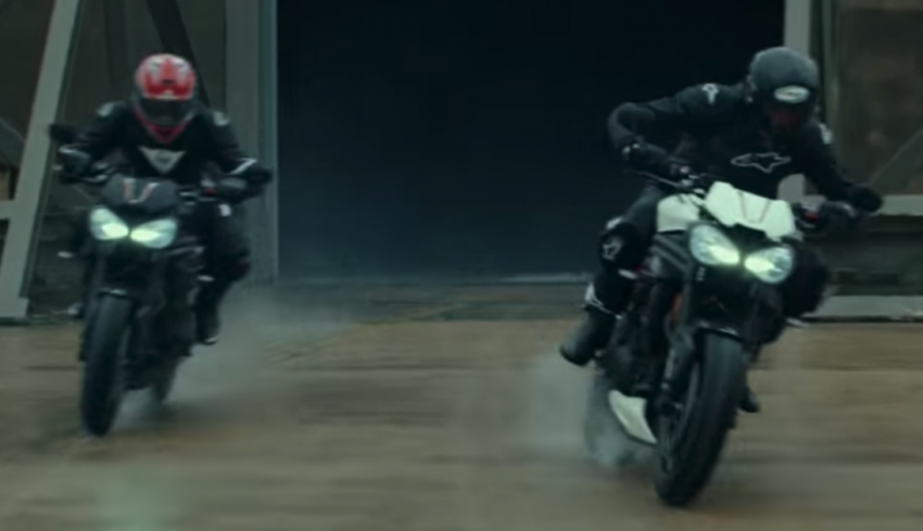 VIDEO: 2018 Triumph Speed Triple teaser video two Image #772686