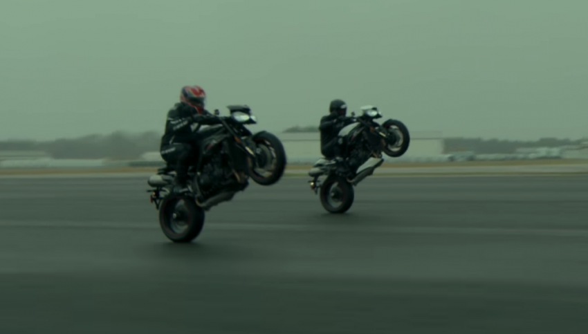 VIDEO: 2018 Triumph Speed Triple teaser video two Image #772680