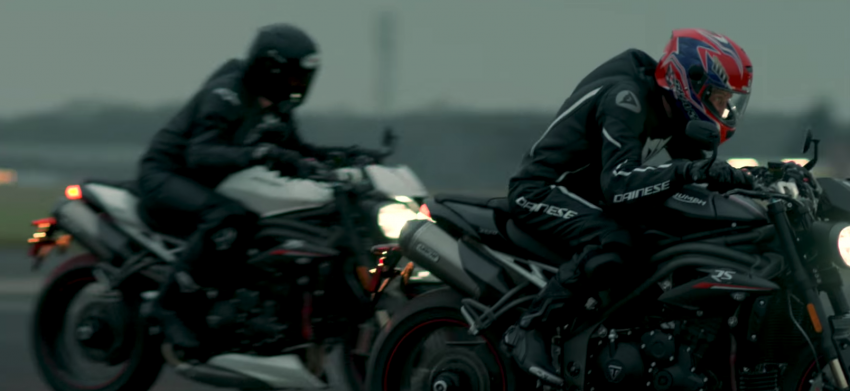 VIDEO: 2018 Triumph Speed Triple teaser video two Image #772681
