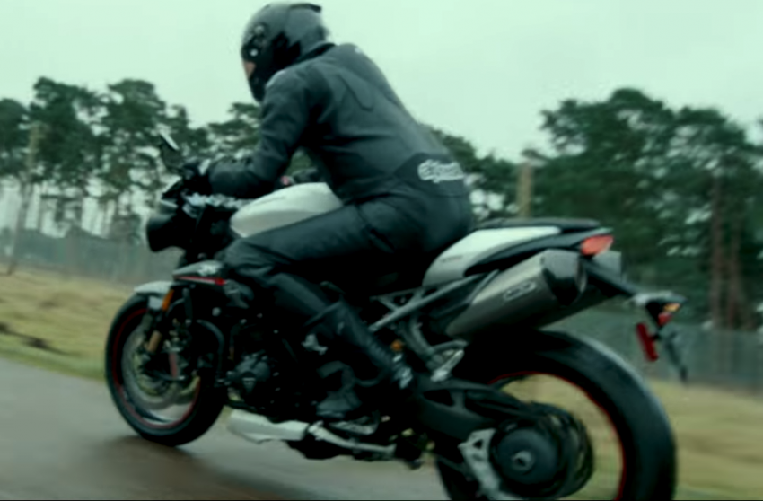 VIDEO: 2018 Triumph Speed Triple teaser video two Image #772682