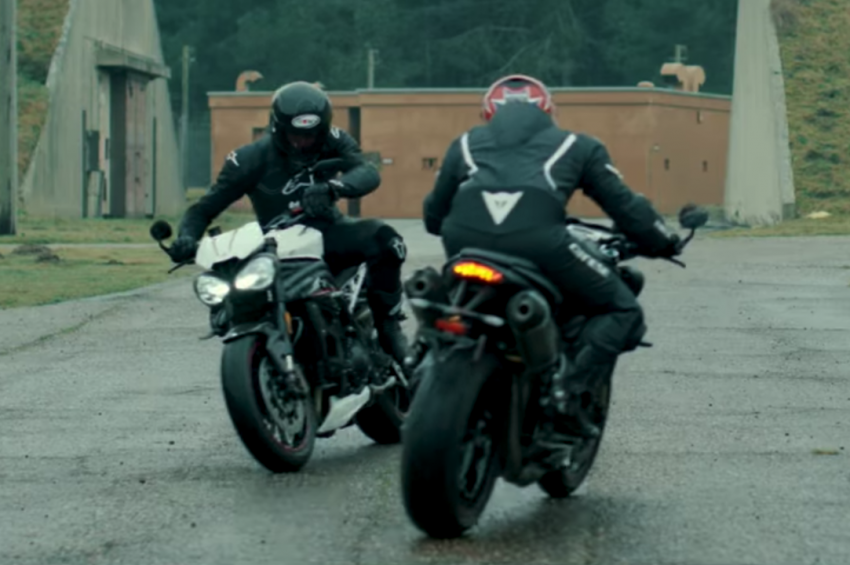 VIDEO: 2018 Triumph Speed Triple teaser video two Image #772683