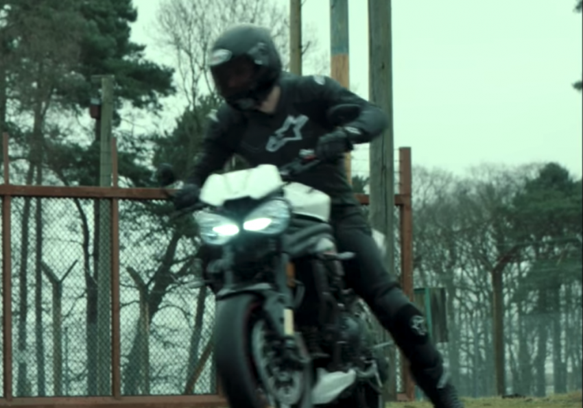 VIDEO: 2018 Triumph Speed Triple teaser video two Image #772684