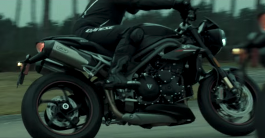 VIDEO: 2018 Triumph Speed Triple teaser video two Image #772685
