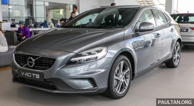 Volvo V40 T4 now available in Malaysia - RM154,649