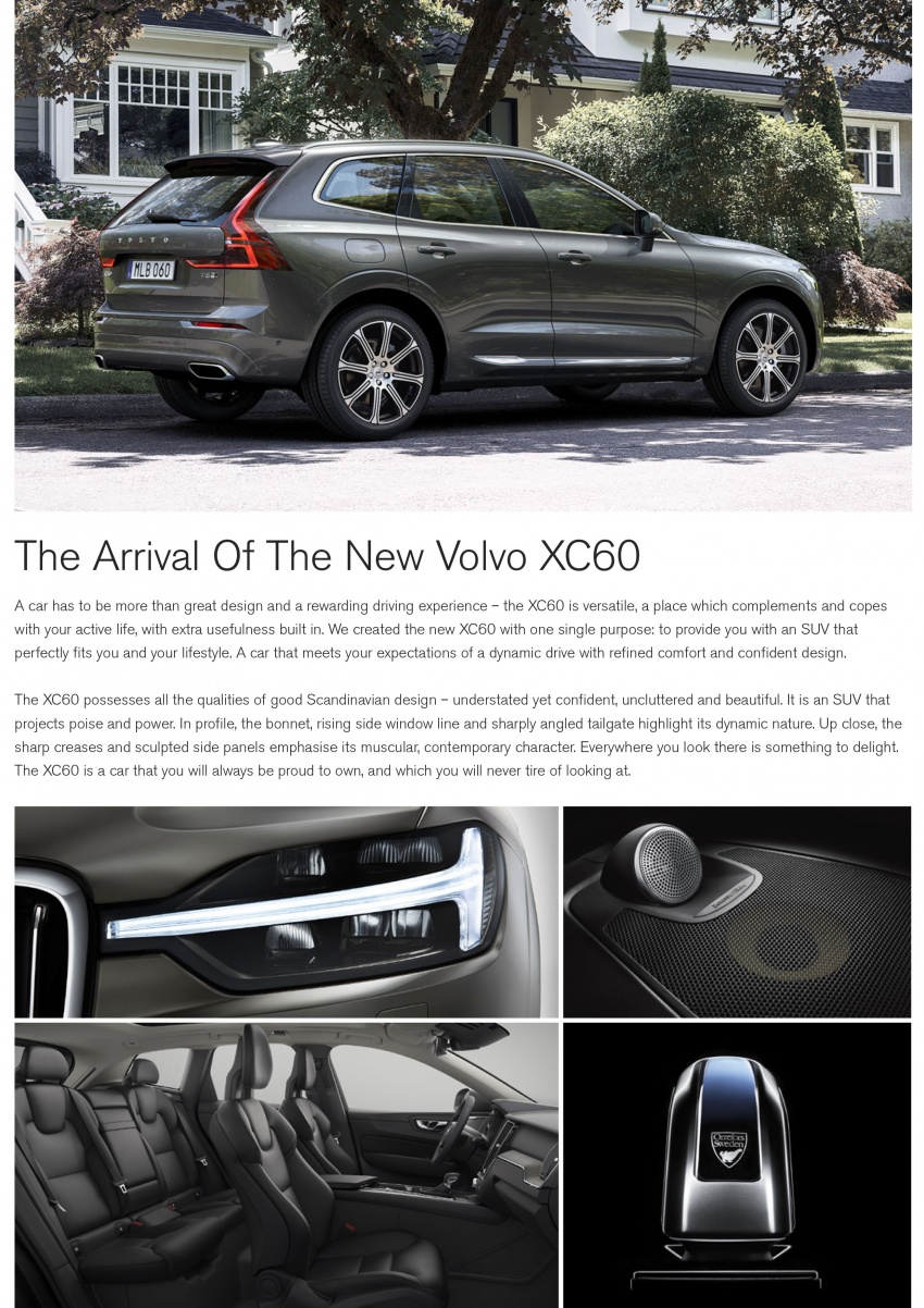 2018 Volvo XC60 launched in Malaysia – CBU T8 PHEV at RM374k, CKD T5 and T8 to arrive later, from RM299k Image #765454