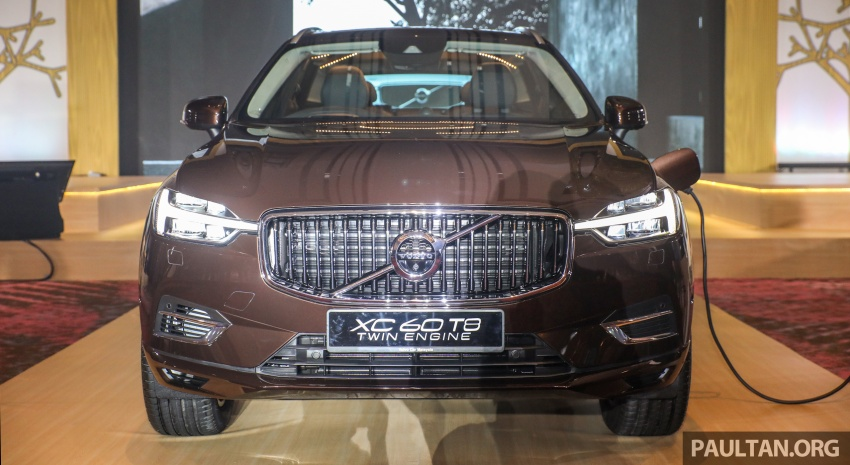 2018 Volvo XC60 launched in Malaysia – CBU T8 PHEV at RM374k, CKD T5 and T8 to arrive later, from RM299k Image #766019