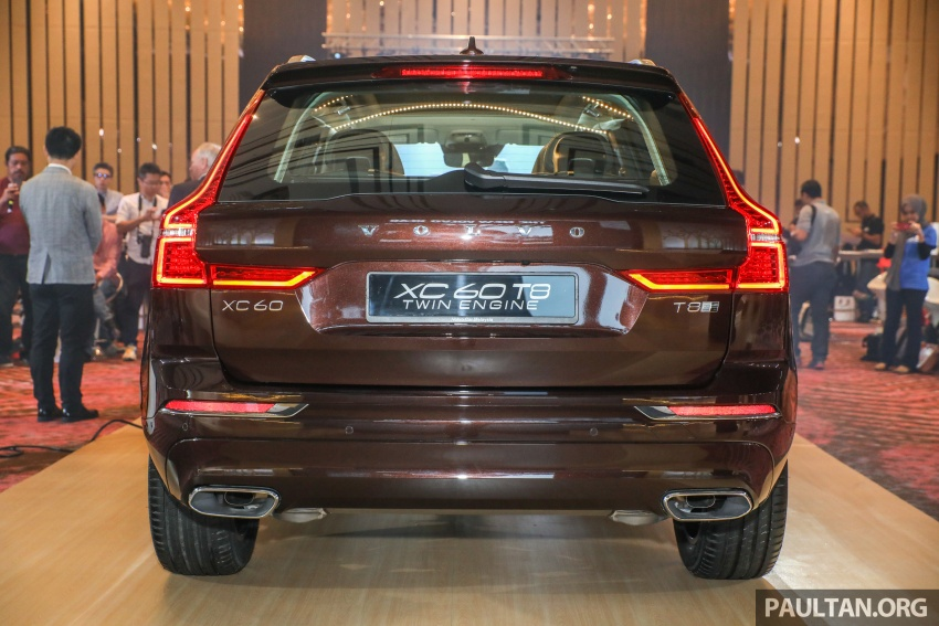 2018 Volvo XC60 launched in Malaysia – CBU T8 PHEV at RM374k, CKD T5 and T8 to arrive later, from RM299k Image #766020