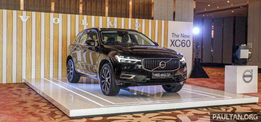 Volvo XC60 2018 dilancarkan di Malaysia – varian CKD dari RM299k, varian CBU tunggal pada harga RM374k Image #766273