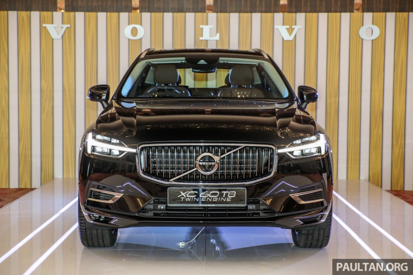 2018 Volvo XC60 launched in Malaysia – CBU T8 PHEV at RM374k, CKD T5 and T8 to arrive later, from RM299k Image #766010