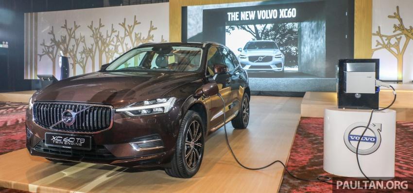 Volvo XC60 2018 dilancarkan di Malaysia – varian CKD dari RM299k, varian CBU tunggal pada harga RM374k Image #766276
