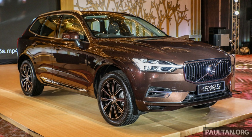 2018 Volvo XC60 launched in Malaysia – CBU T8 PHEV at RM374k, CKD T5 and T8 to arrive later, from RM299k Image #766014