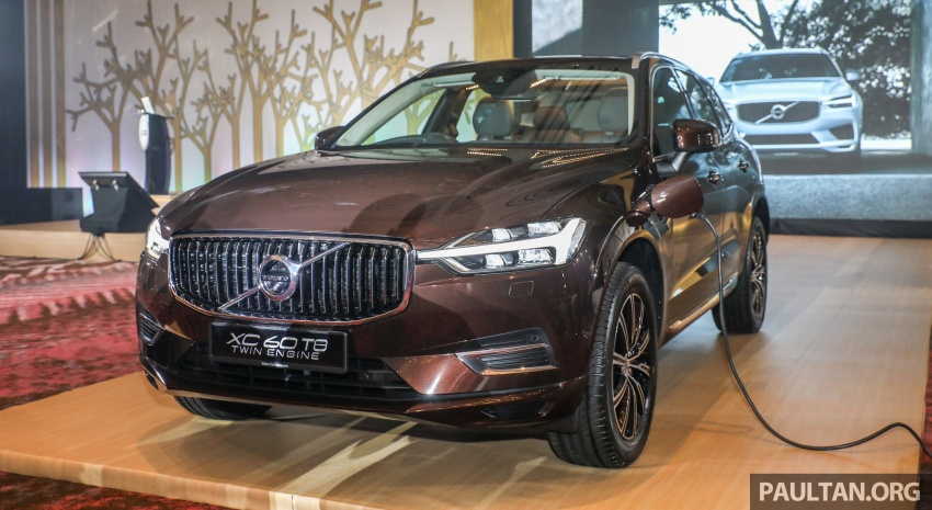 2018 Volvo XC60 launched in Malaysia – CBU T8 PHEV at RM374k, CKD T5 and T8 to arrive later, from RM299k Image #766015