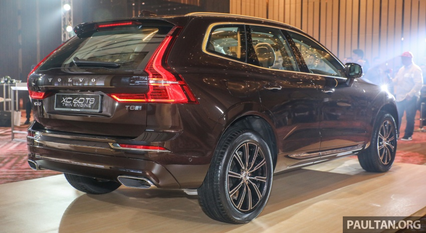 2018 Volvo XC60 launched in Malaysia – CBU T8 PHEV at RM374k, CKD T5 and T8 to arrive later, from RM299k Image #766016
