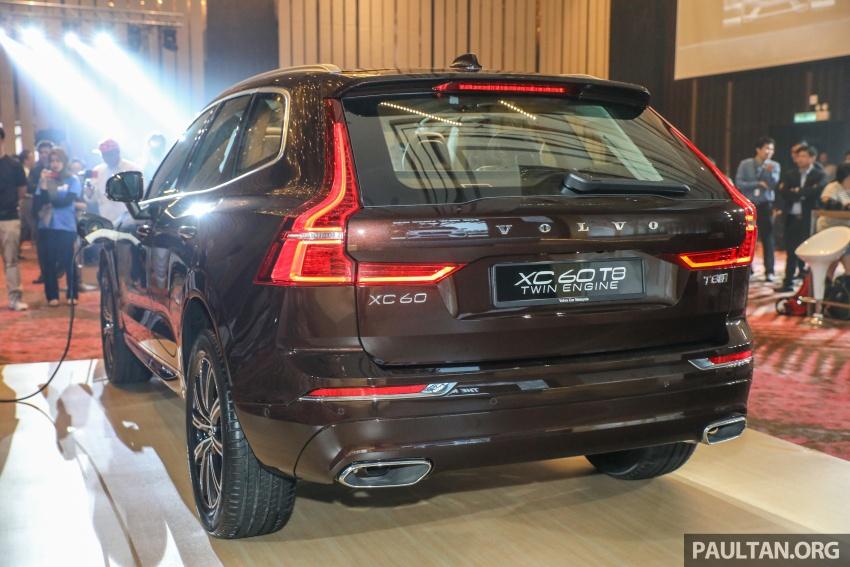 2018 Volvo XC60 launched in Malaysia – CBU T8 PHEV at RM374k, CKD T5 and T8 to arrive later, from RM299k Image #766017