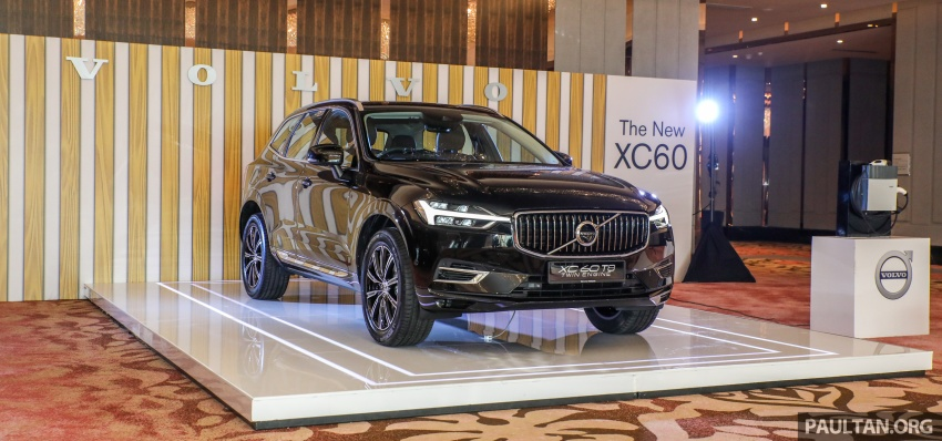 2018 Volvo XC60 launched in Malaysia – CBU T8 PHEV at RM374k, CKD T5 and T8 to arrive later, from RM299k Image #765568