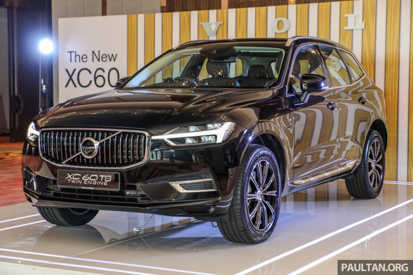 2018 Volvo XC60 launched in Malaysia – CBU T8 PHEV at RM374k, CKD T5 and T8 to arrive later, from RM299k Image #765570