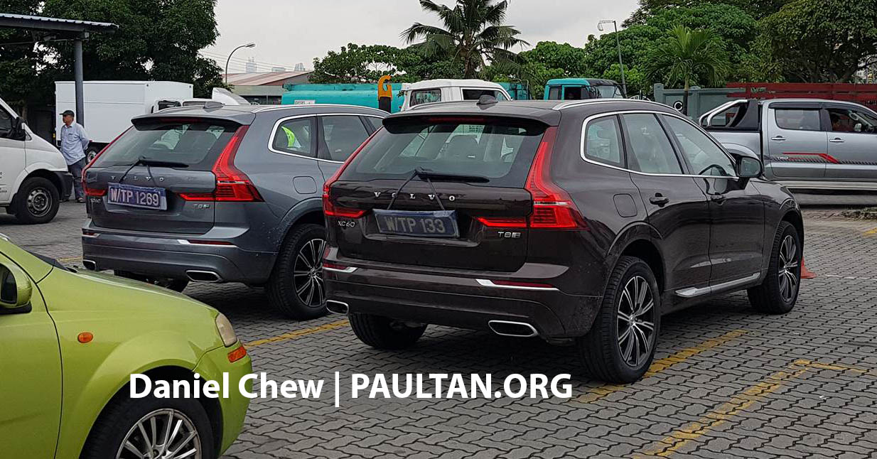 2018 volvo xc60 t8 inscription spotted in malaysia. Black Bedroom Furniture Sets. Home Design Ideas