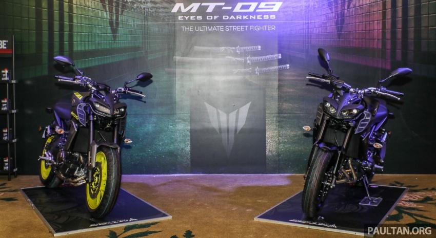 Yamaha MT-09 CKD diperbaharui untuk Malaysia – pelbagai kelengkapan prestasi diberi, harga RM47,388 Image #761276
