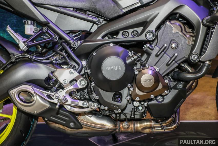 Yamaha MT-09 CKD diperbaharui untuk Malaysia – pelbagai kelengkapan prestasi diberi, harga RM47,388 Image #761288