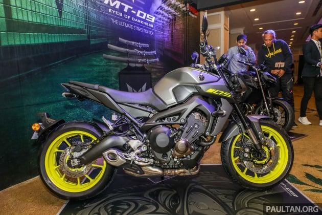 Yamaha Motorcycles Usa >> 2018 Yamaha MT-09 now in Malaysia - RM47,388