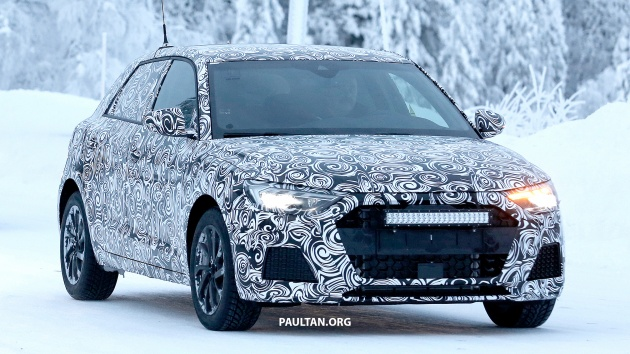 spied 2019 audi a1 to get 300 hp rs1 in the future. Black Bedroom Furniture Sets. Home Design Ideas