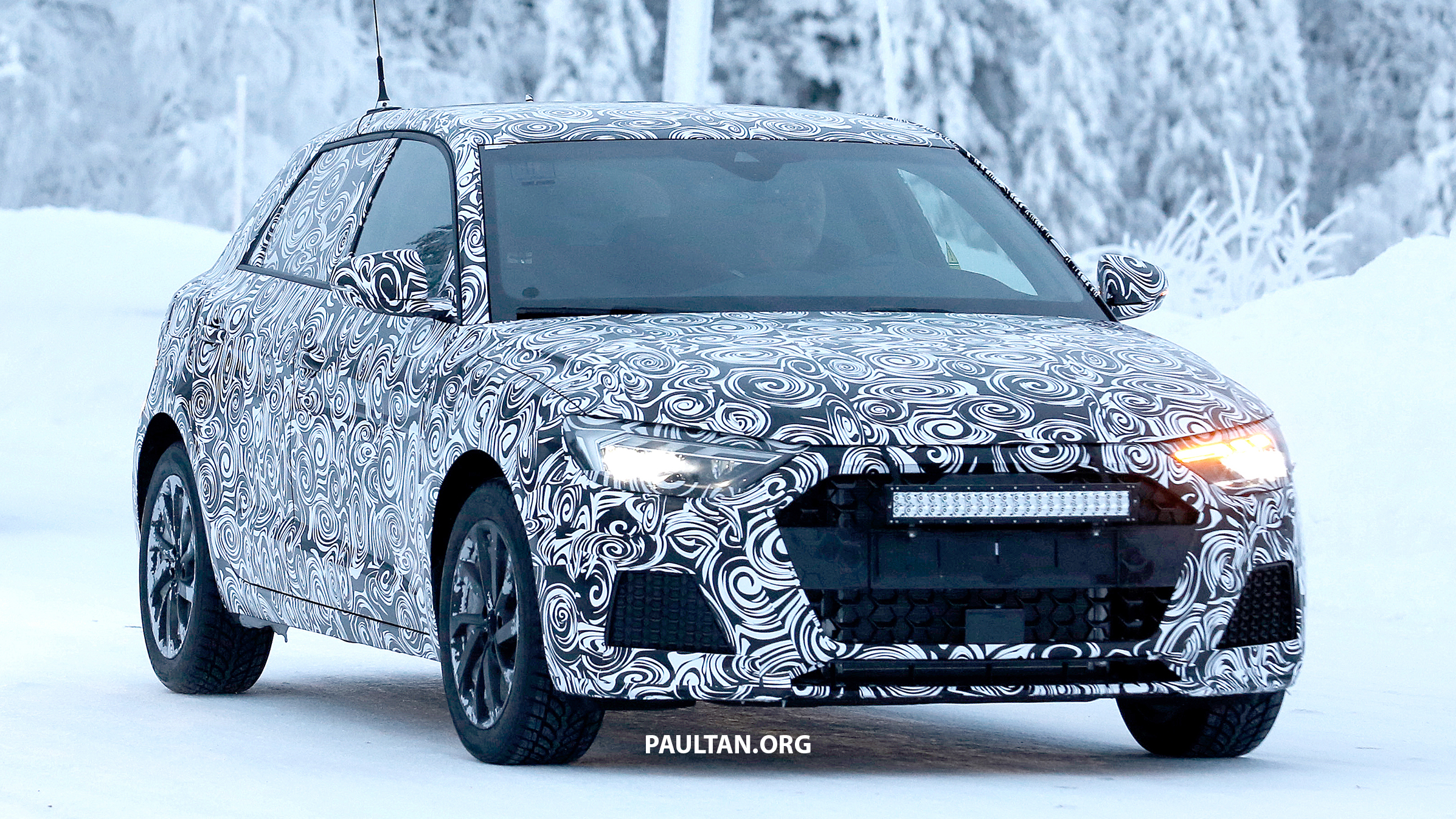 Spied 2019 Audi A1 To Get 300 Hp Rs1 In The Future