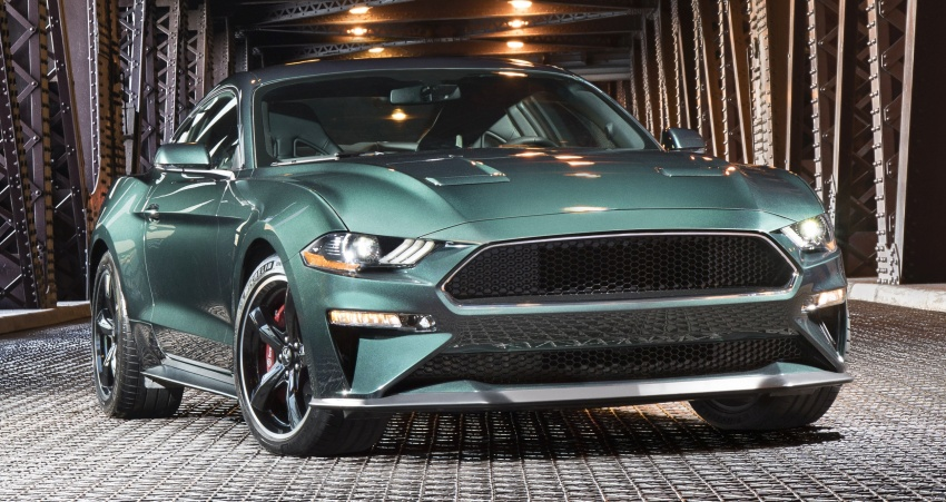 2019 Ford Mustang Bullitt – a 50th anniversary special Image #762029
