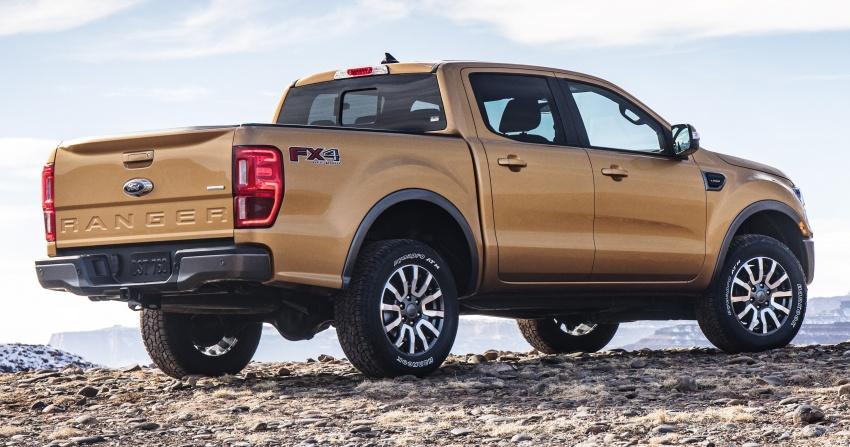 Ford Ranger 2019 untuk pasaran Amerika Syarikat – 2.3 liter EcoBoost, transmisi 10-kelajuan dan ...