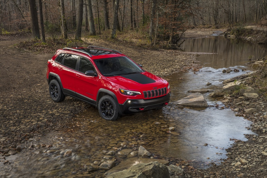 2019 Jeep Cherokee fully revealed – new 2.0L turbo Image #766419